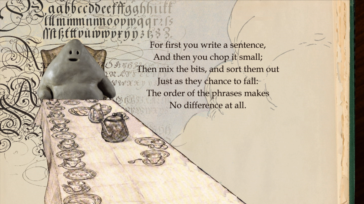 The Golem - and one of the first texts about copying - courtesy of Lewis Carroll
