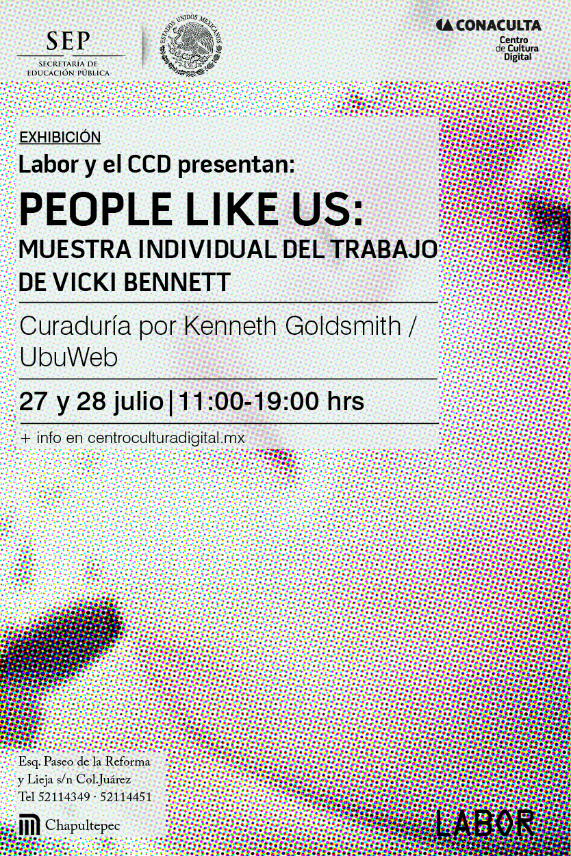 People Like Us solo show