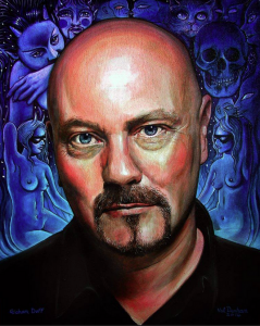Graham Duff, painted by Val Denham