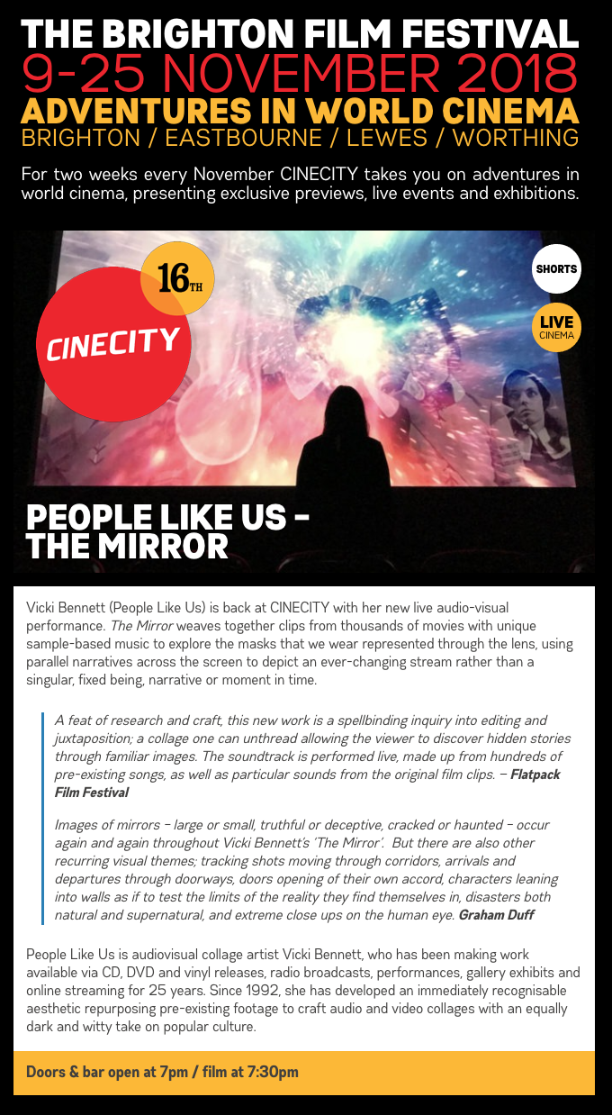People Like Us Welcome To The Only Official Site For Your Trailer May Not Have Been Originally Wired Way Depicted And Mirror At Brighton Film Festival